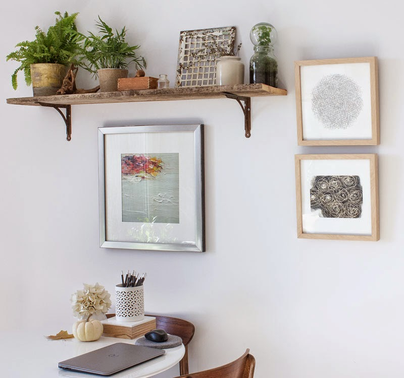DIY plant shelf —Refreshed Designs