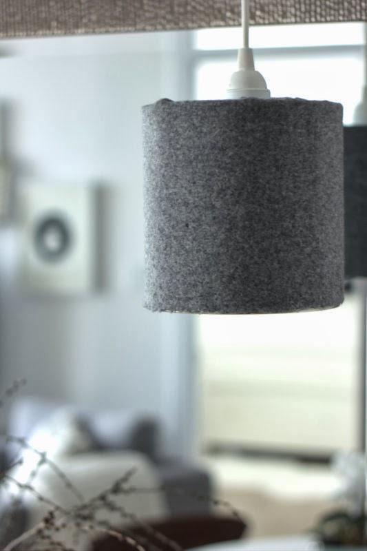 Repurposed coffee can pendant lamp tutorial