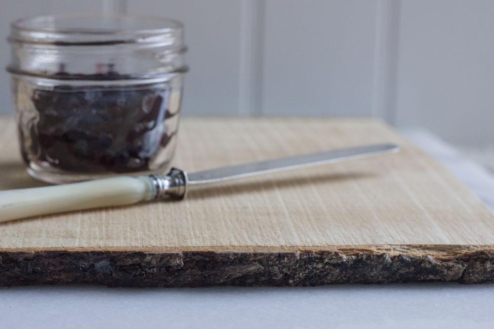 sugar maple live edge serving board