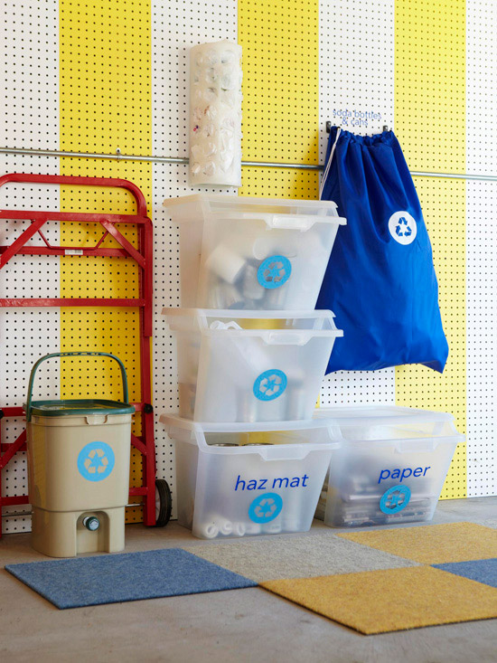 how to make recycling simple and organized