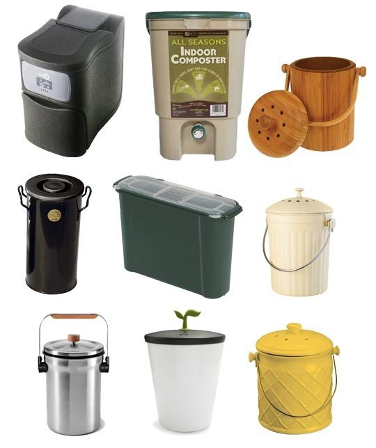 stylish compost bin options
