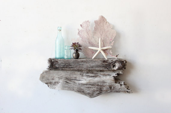 driftwood shelf