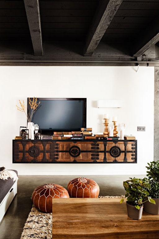 how to declutter your entertainment tv wall