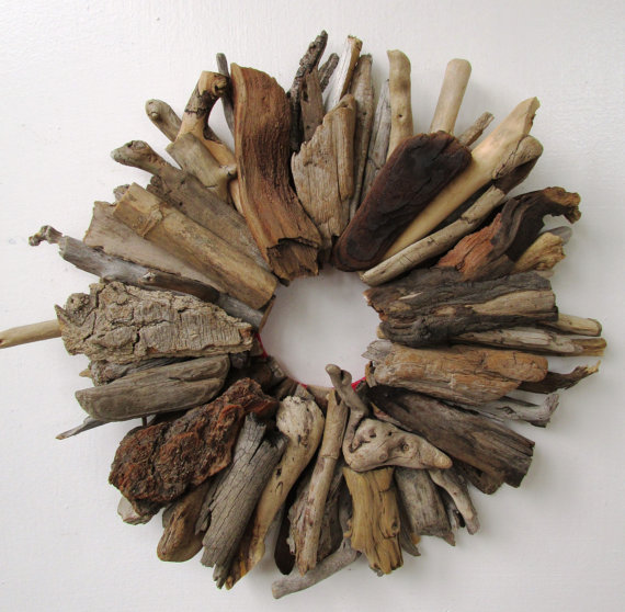 simple driftwood wreath