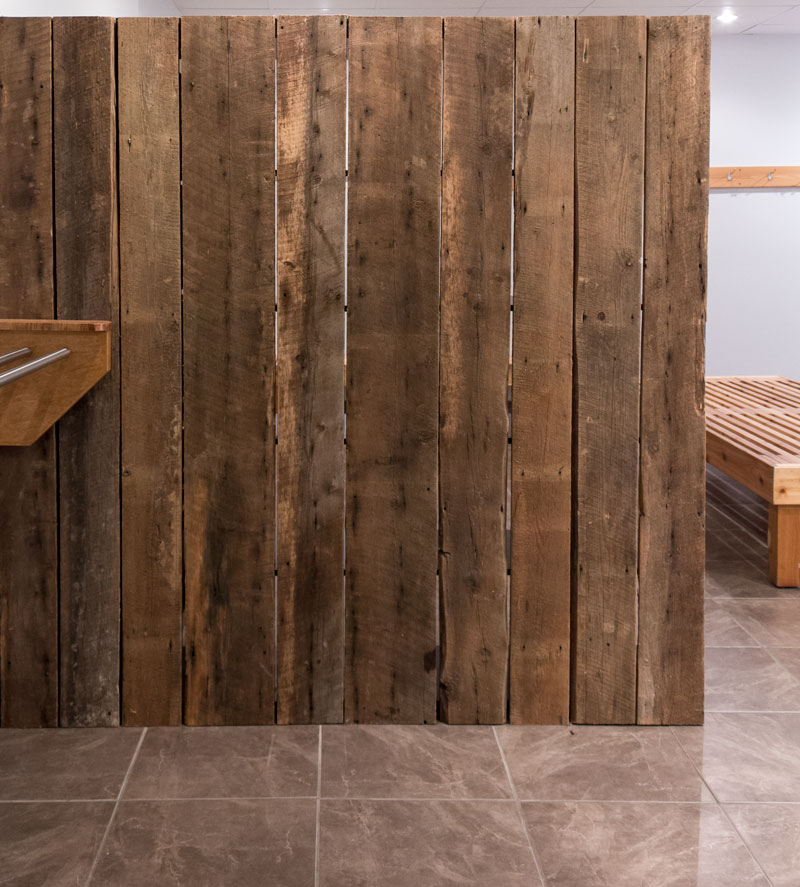 barn board room divider