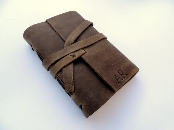leather journal - 2015 gift guide for simple, meaningful giving