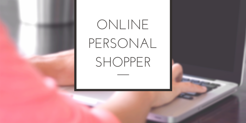 online personal shopping - gift guide