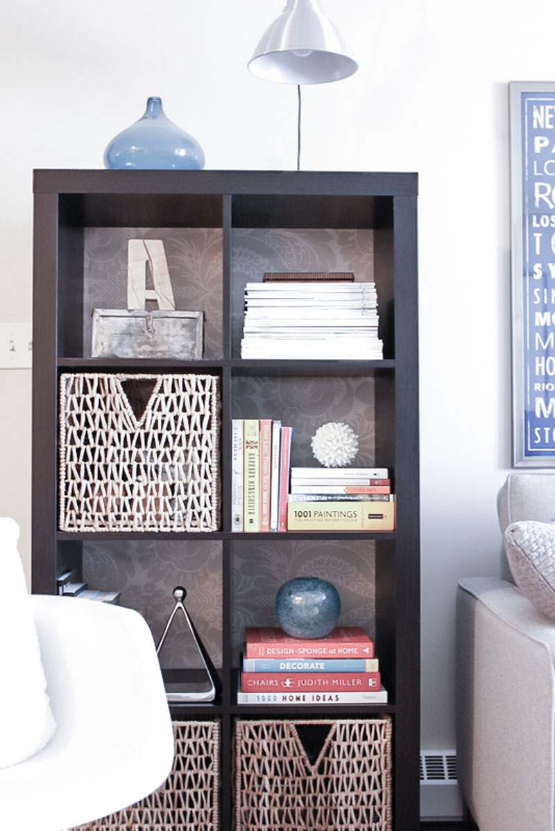 Quick Refresh Ikea Bookcase Hack Refreshed Designs