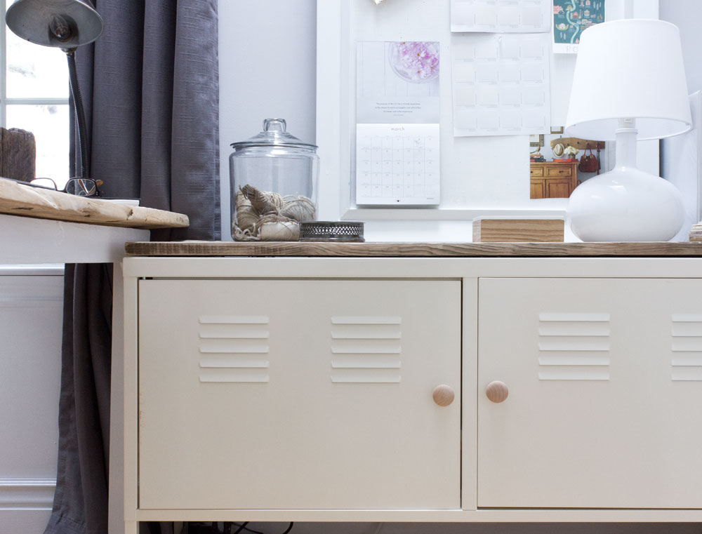 Lovely IKEA Locker Barn Board Hack