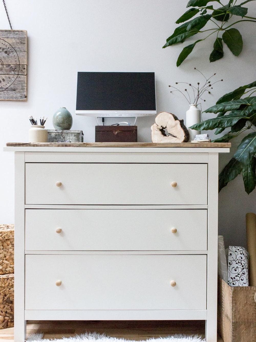 IKEA Hemnes Standing Desk Hack
