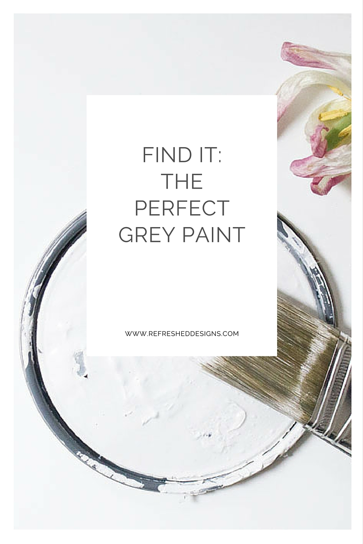 find the perfect gray paint