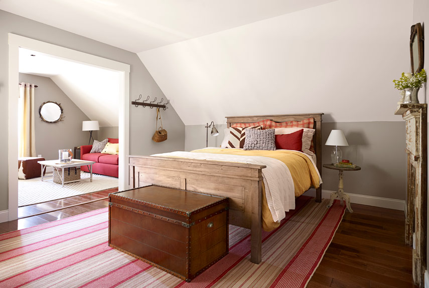 creating a cottage cabin guest room retreat