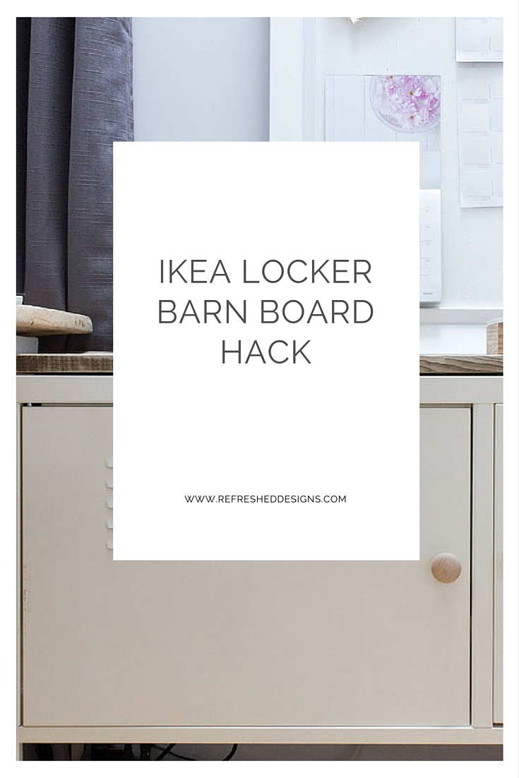 IKEA locker barn board hack