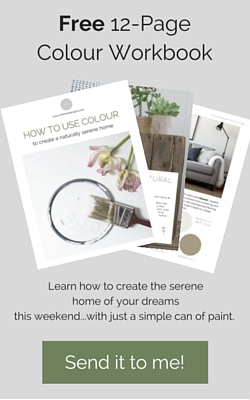 how to create a serene home using paint colours