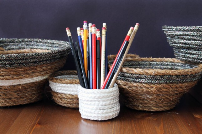 rope nesting bowls DIY via Brit & Co.