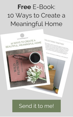 free ebook - how to create a meaningful home