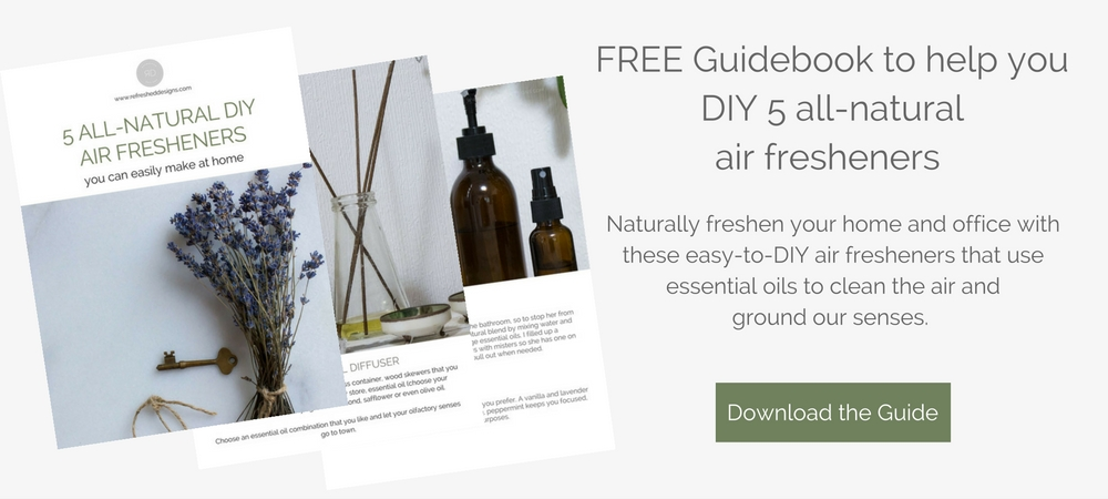 natural non-toxic air fresherners to make at home