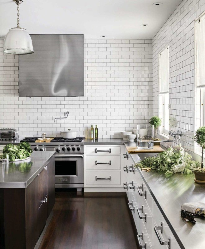 top eco-friendly countertops: stainless steel countertop