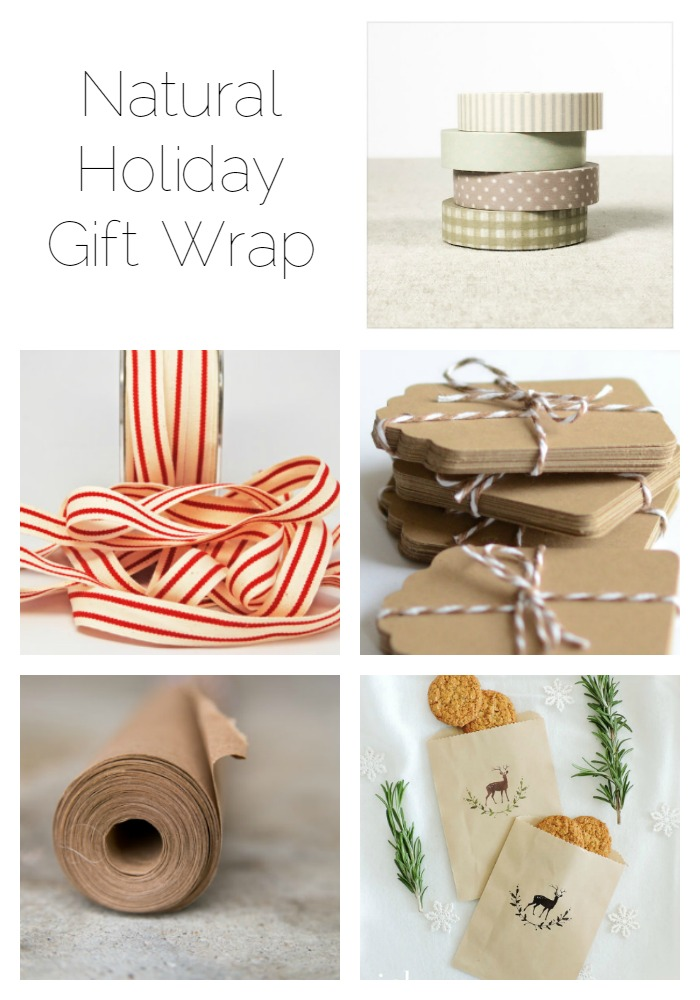 Curated list of the best natural gift wrap, tag and card products on Etsy - click to buy.