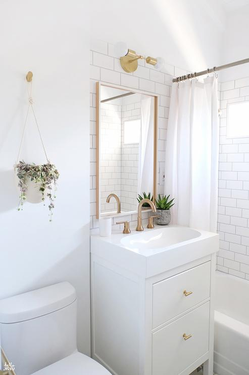 budget upgrades to a builder basic bathroom