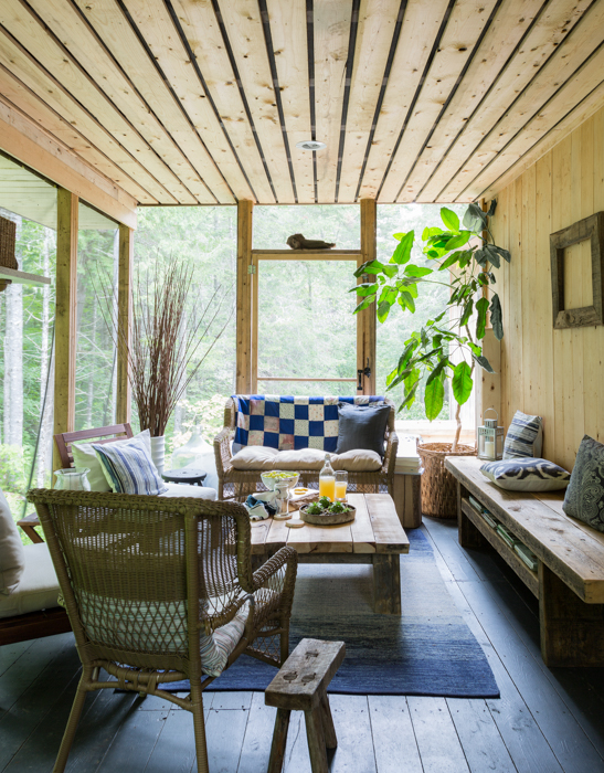 my sunporch: photo by Robin Stubbert