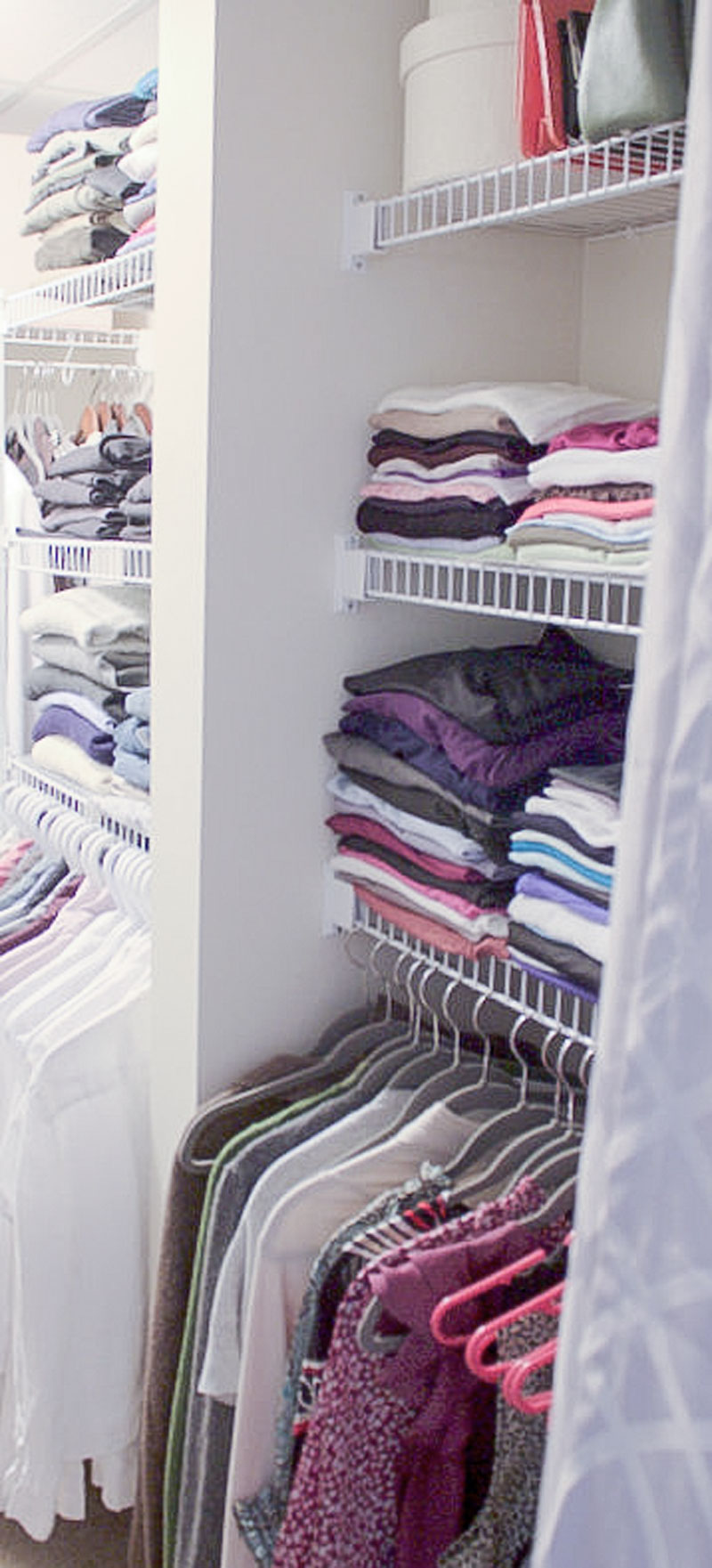 15 steps to decluttering your clothes closet
