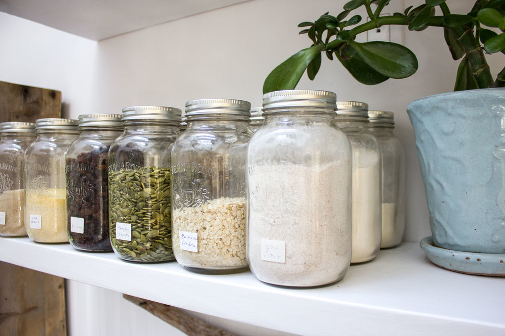 ways to use jars to organize