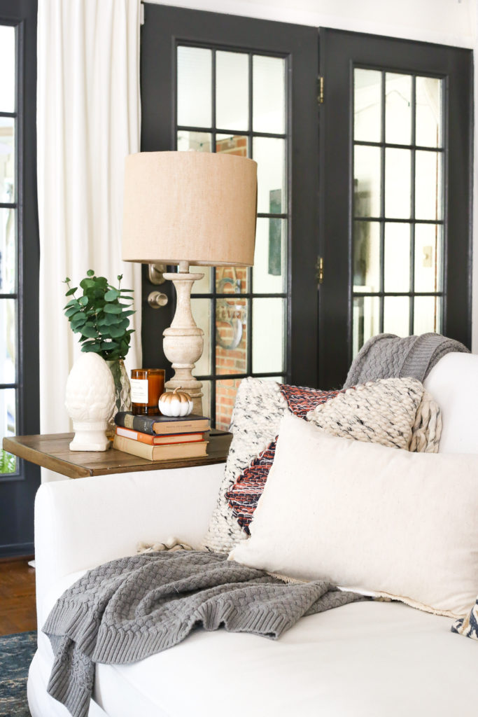 simple fall home decorating