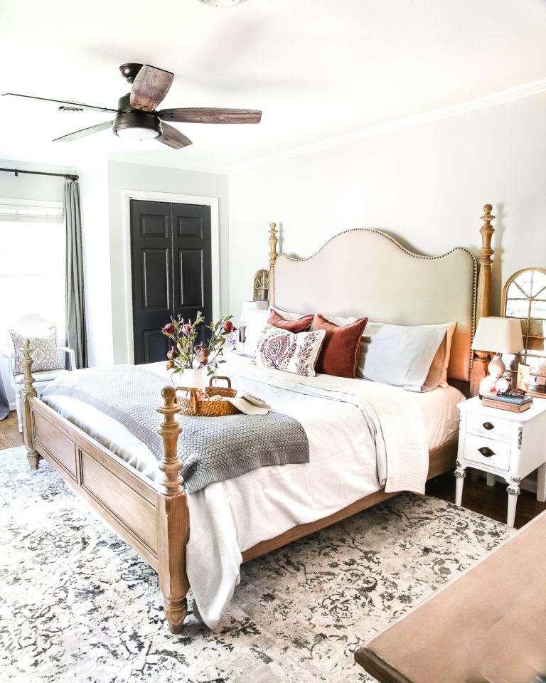 Fall bedroom design