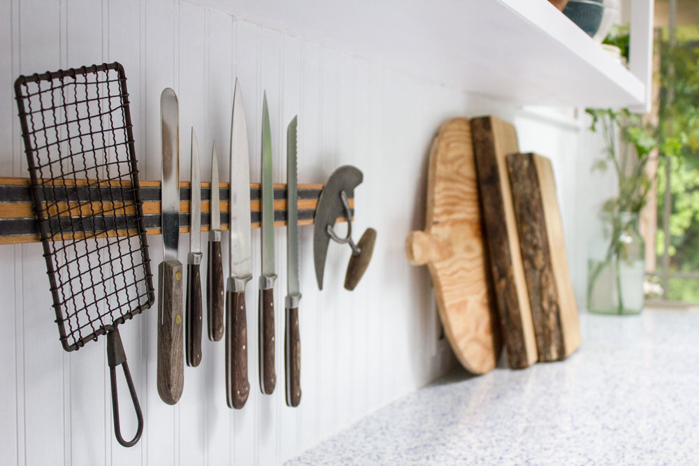 organizing the kitchen to make cooking easier