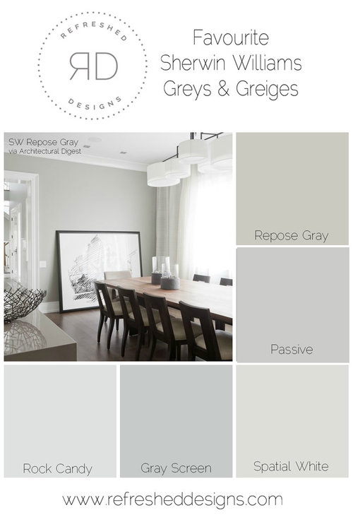 New Light Grey Paint Swatch