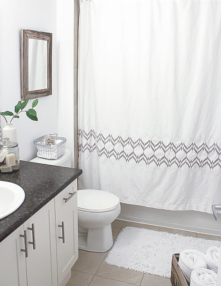 How to organize and decorate a tiny condo bathroom