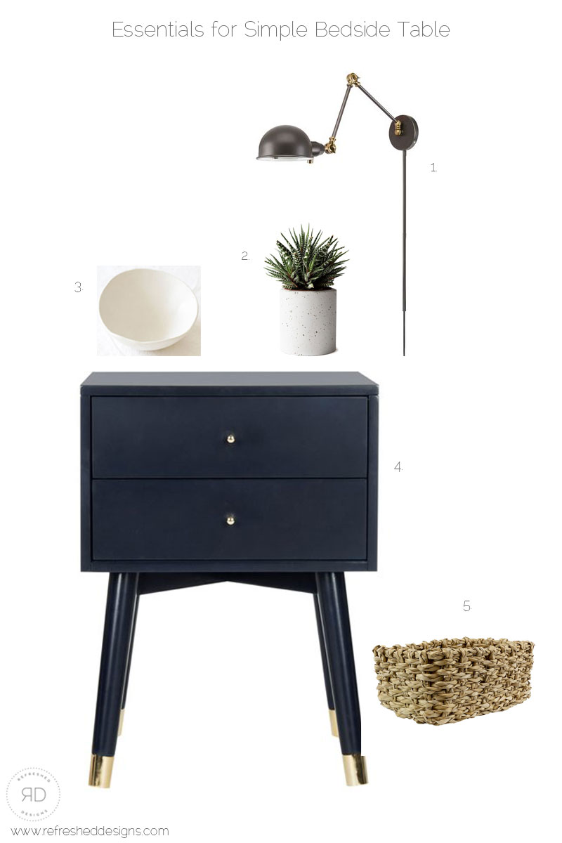 Essentials for a simple bedside table that promotes healthy joyful essentials for a simple bedside table that promotes healthy joyful living refreshed designs watchthetrailerfo