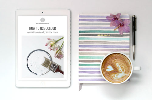 Colour workbook for a serene home