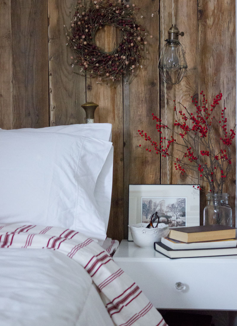 simplify holiday decorating - two tricks