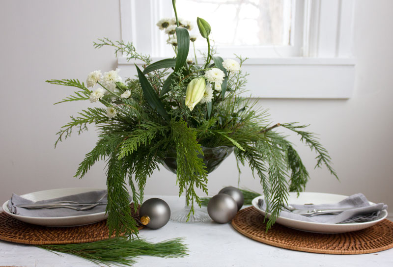 simple diy christmas decor on a budget