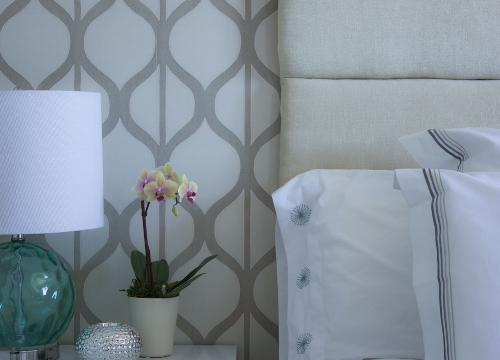Beach Glam Guest Room Refresh