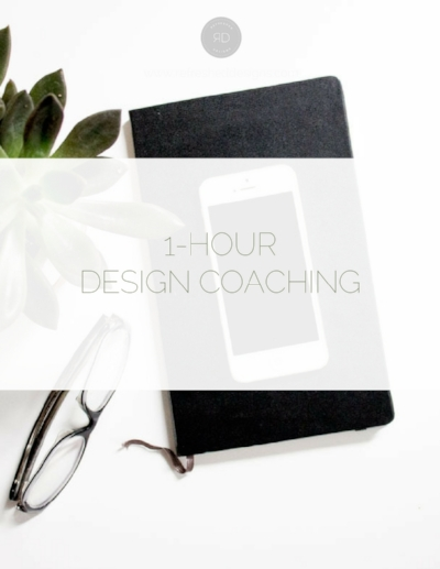 One-Hour Design Coaching / online interior design