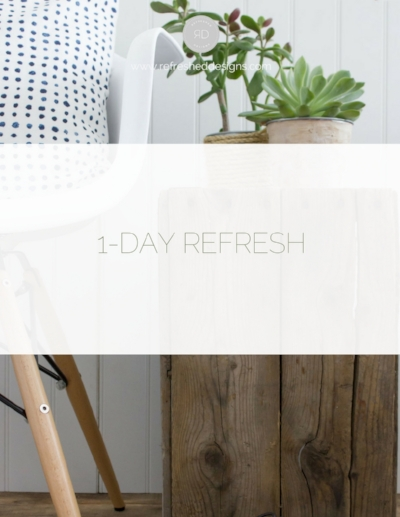 1-Day Refresh - Fredericton, NB interior decorating