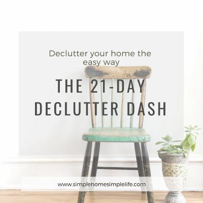 21-day declutter dash coaching program