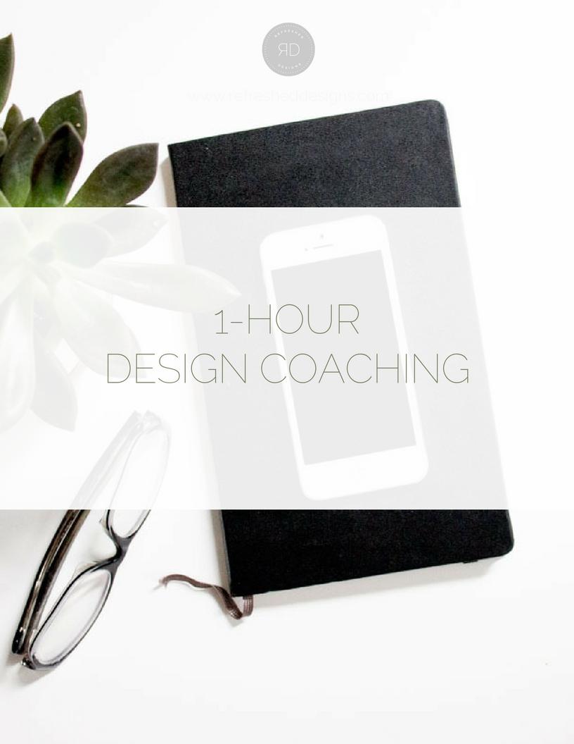 One-Hour Design Coaching