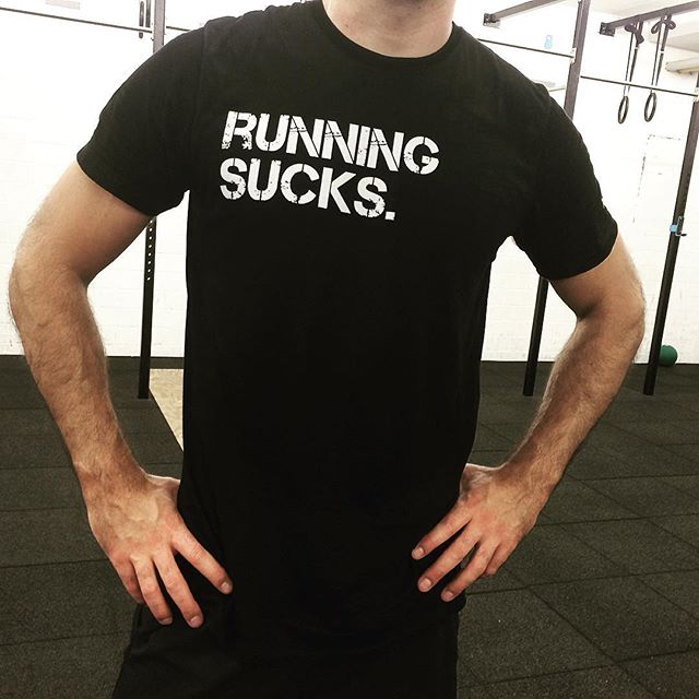 RUNNING SUCKS. Yes it does, make sure the people know it 😉 And go anyway!  #spreadnew #crossfit #training #tshirt #tshirtdesign #sportshirt #athlete #fashionfriends #fitnessapparel #keeppushing #keepfit #strong #keepfighting #spreadstage #spreadastic #instafashion #instapic #runnig #runningman #runningsucks #runnersofinstagram #runningmotivation