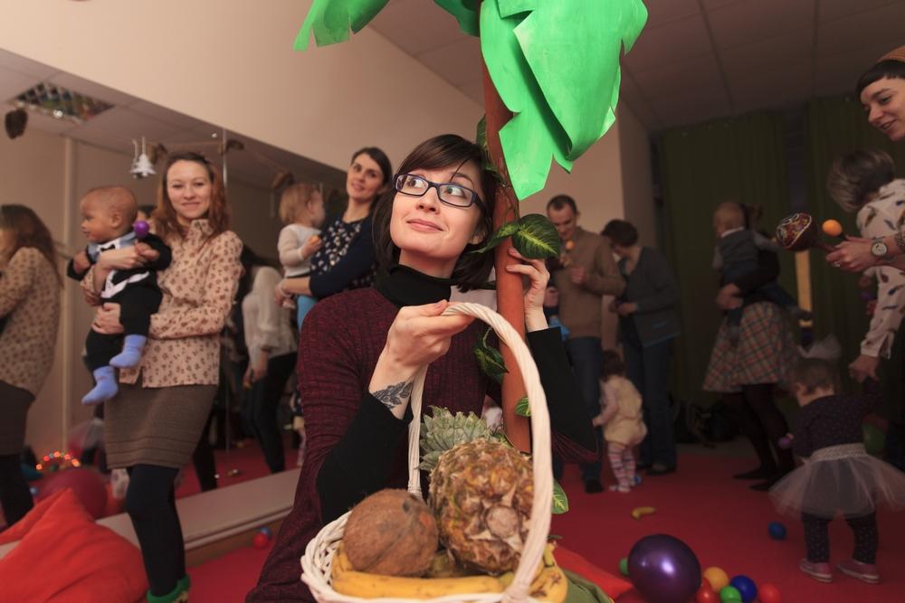 Спектакль для малышей и их родителей