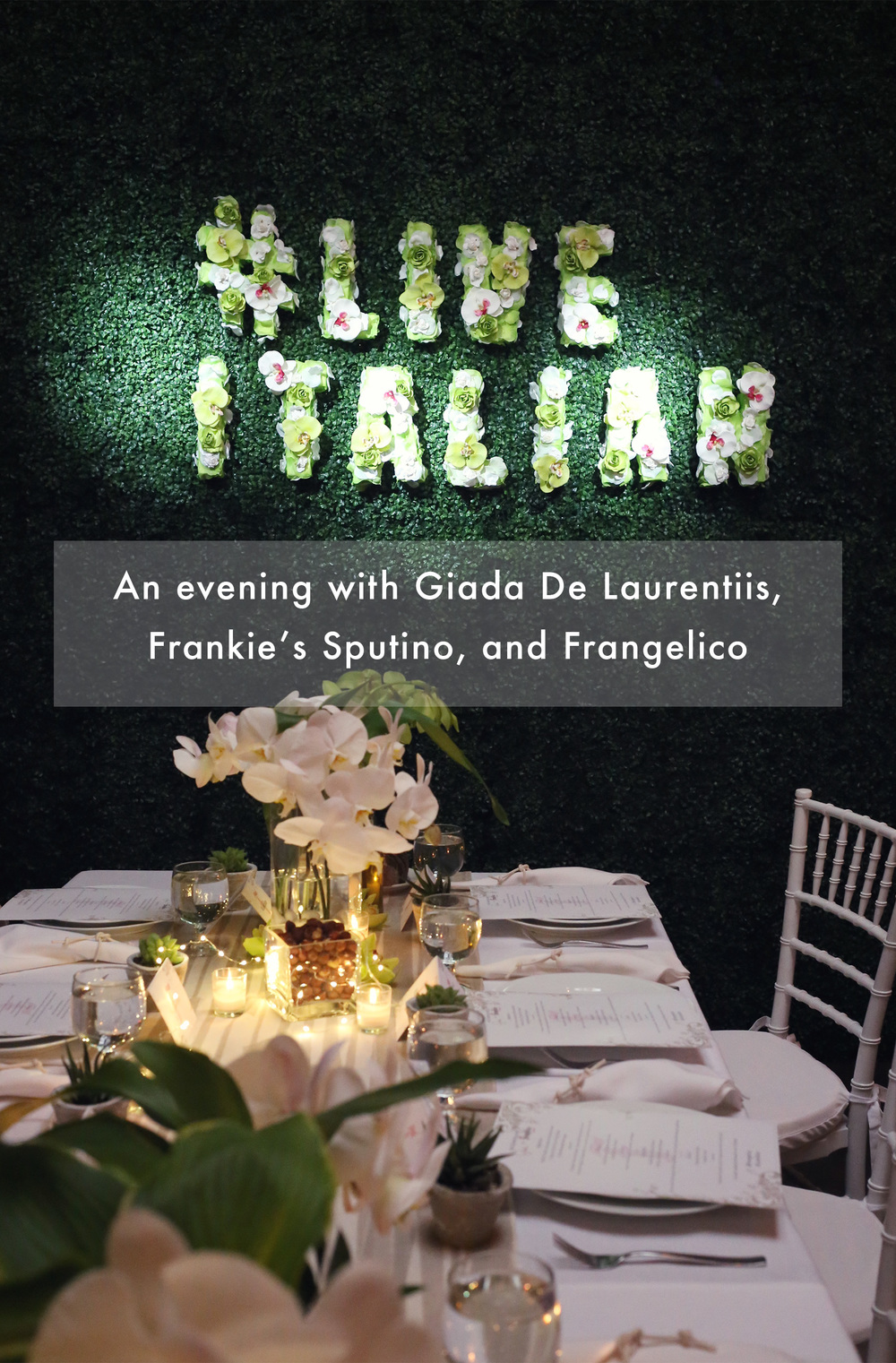 #LiveItalian with Giada
