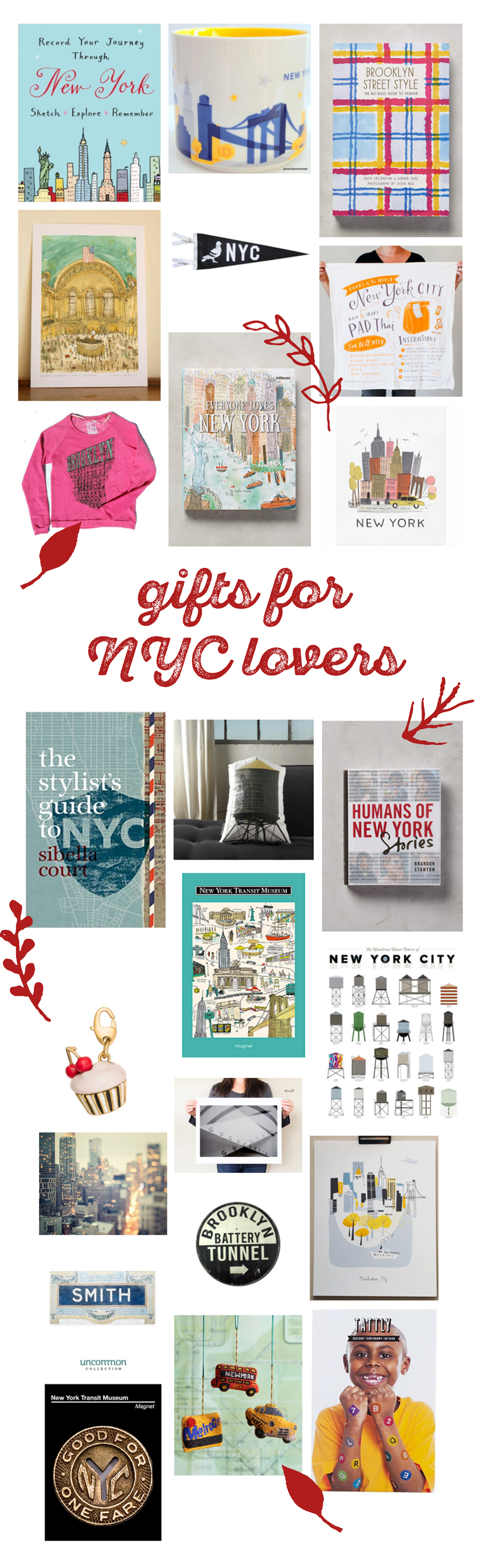 gift guide: i love NYC