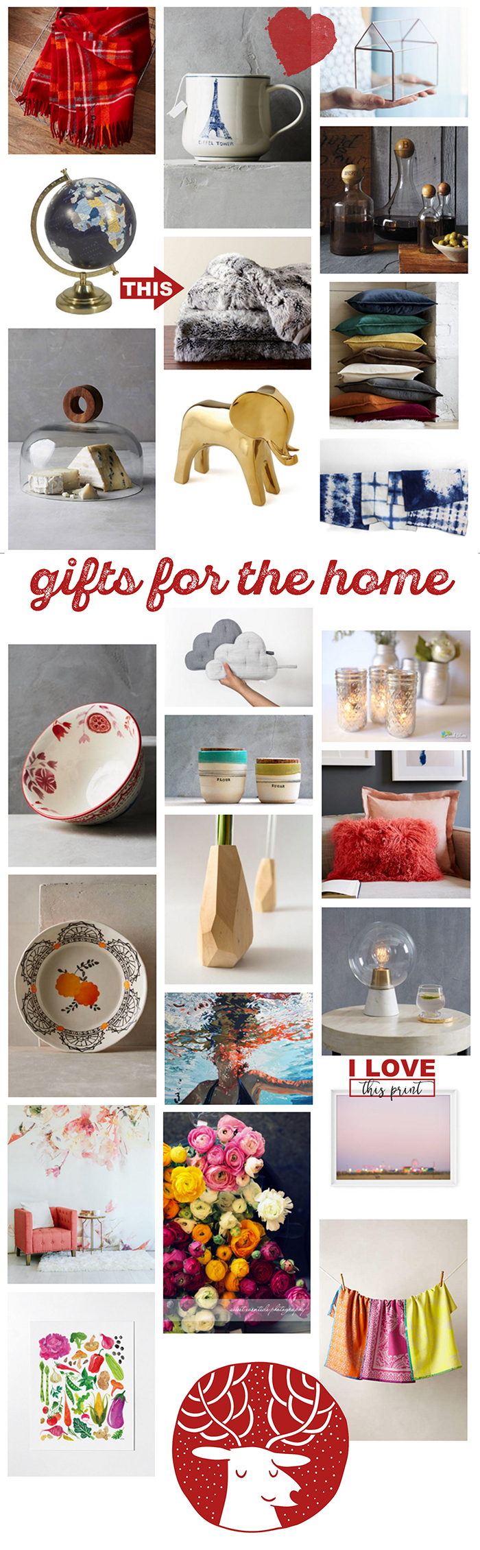 Lovely gifts for the home