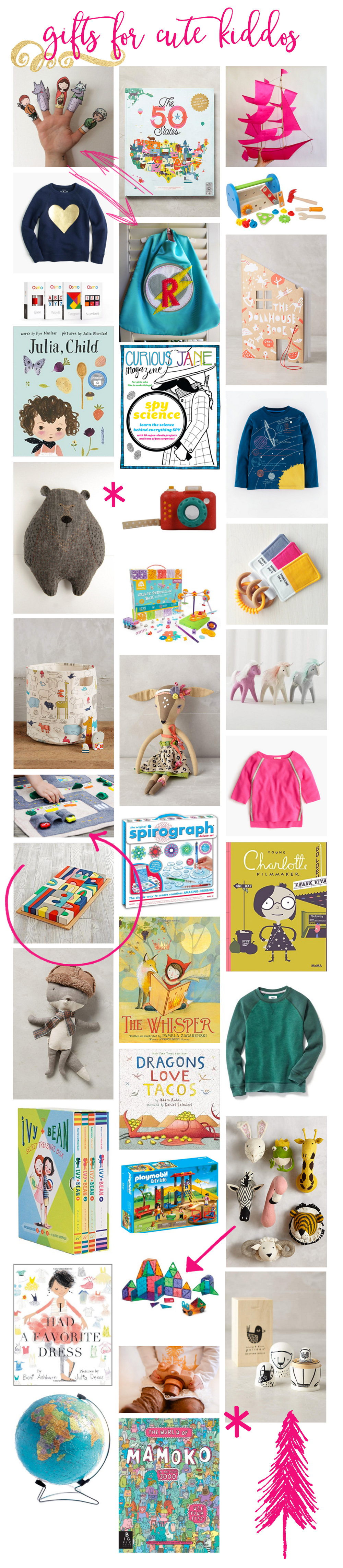 gifts for cute kiddos