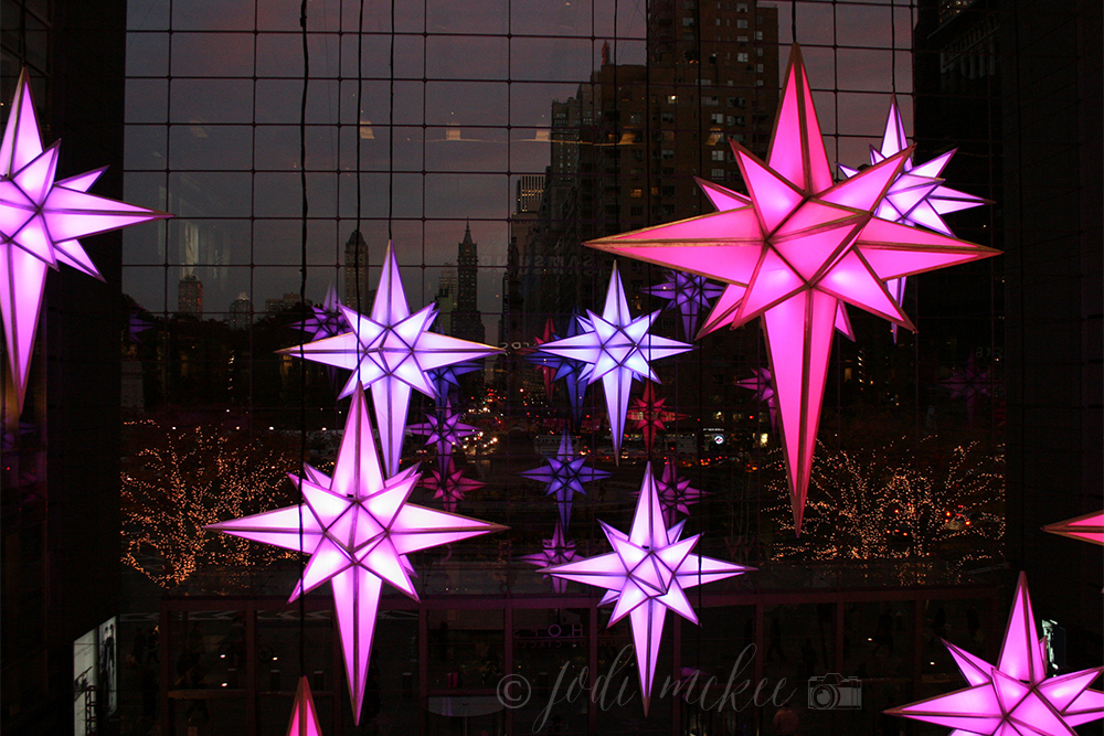 stars at time warner center, new york city
