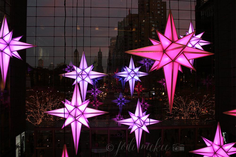stars at time warner center, new york city