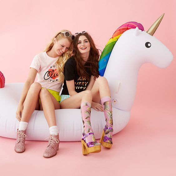 Rainbow Unicorn Float